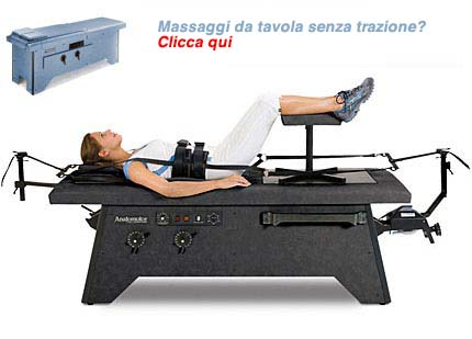 Hill Anatomotor Traction Massage Table
